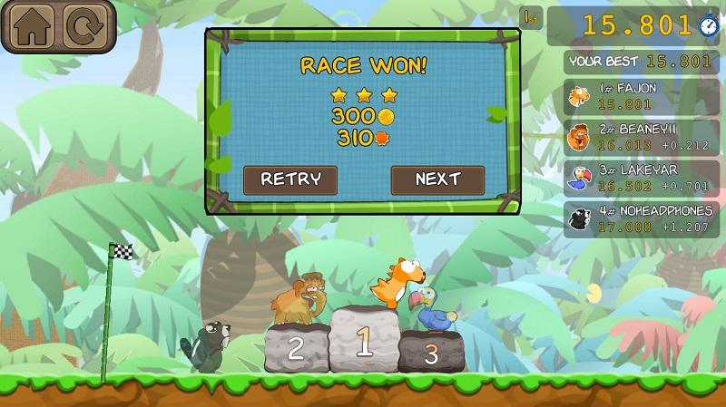 Dino Rush Race