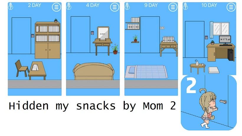 Hidden my snacks by Mom 2