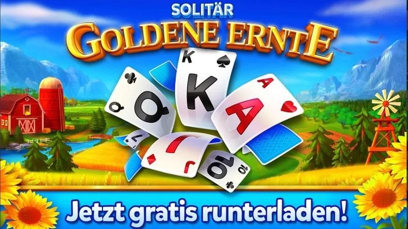 Eines der besten Games des Genres: Solitär - Goldene Ernte