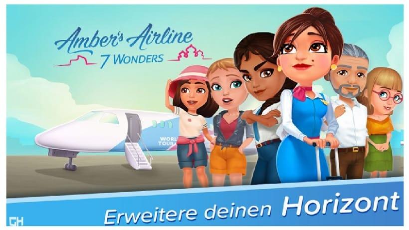 Amber's Airline - 7 Wonders