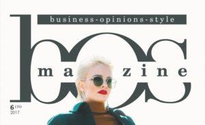 Обложка BOSmagazine