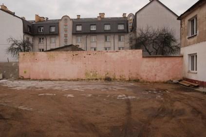 Zdjęcie murów z akcji poszukiwania miejsca na mural