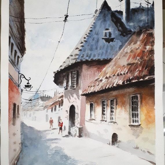 По мотивам картины Carneliu Dragan-Targoviste