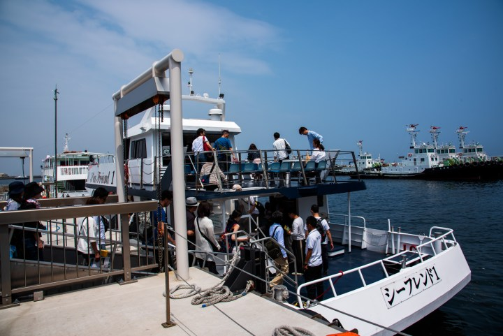 第二海堡ツアー船