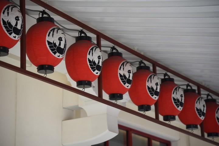 歌舞伎座の提灯