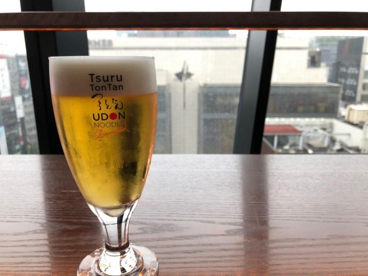 つるとんたん UDON NOODLE Brasserie 東急プラザ銀座店ビール