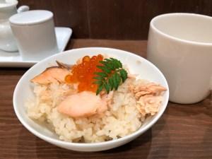 MUJI Diner塩引き鮭の炊き込みごはんハーフ