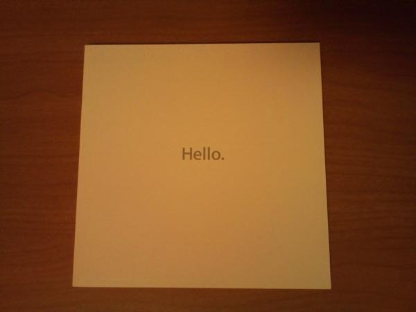 MacBook Pro取説表紙