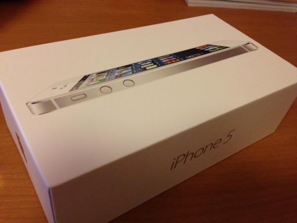 iPhone 5箱
