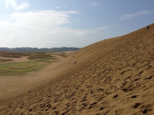 鳥取砂丘斜面