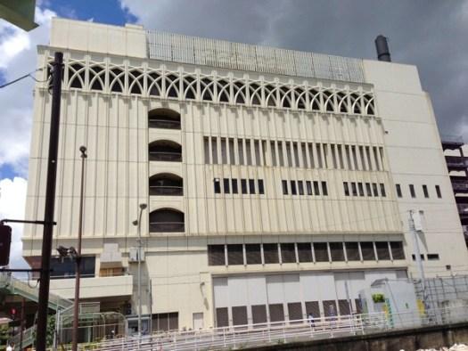 旧黒崎そごう(現井筒屋黒崎店)八幡方面