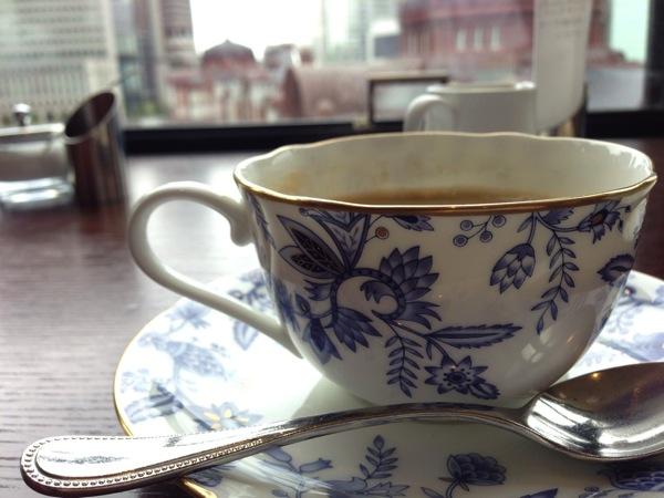 domPierre Heart KITTEのコーヒー