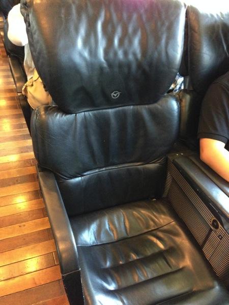 かもめの座席