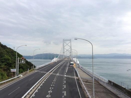 大鳴門橋のバス停