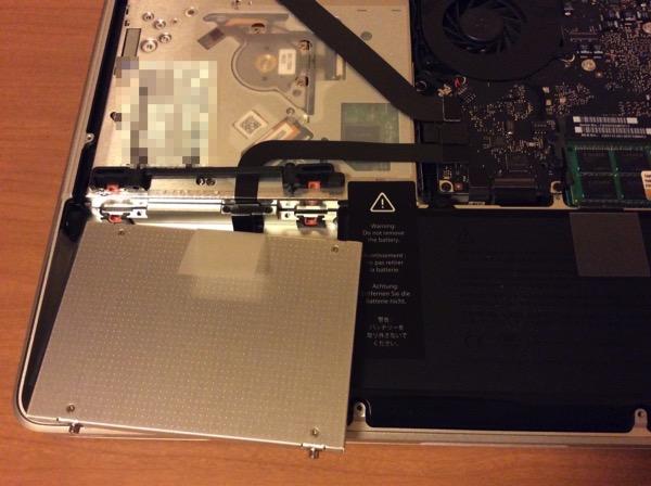 MacBook ProのSSD