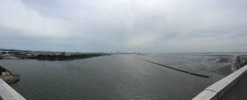 中の島大橋パノラマ写真
