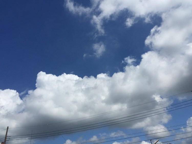 青い空白い雲