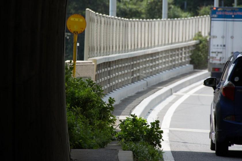 大沢バス停