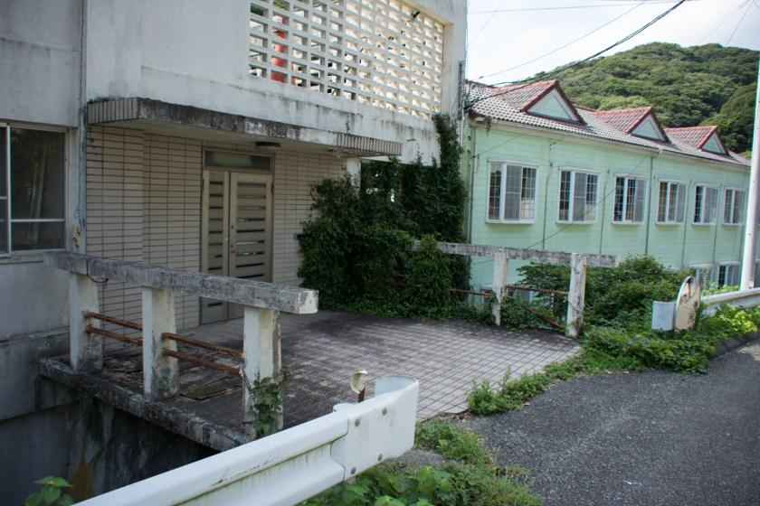 安房小湊の廃墟