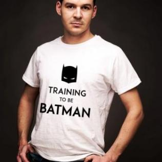 koszulka training to be batman