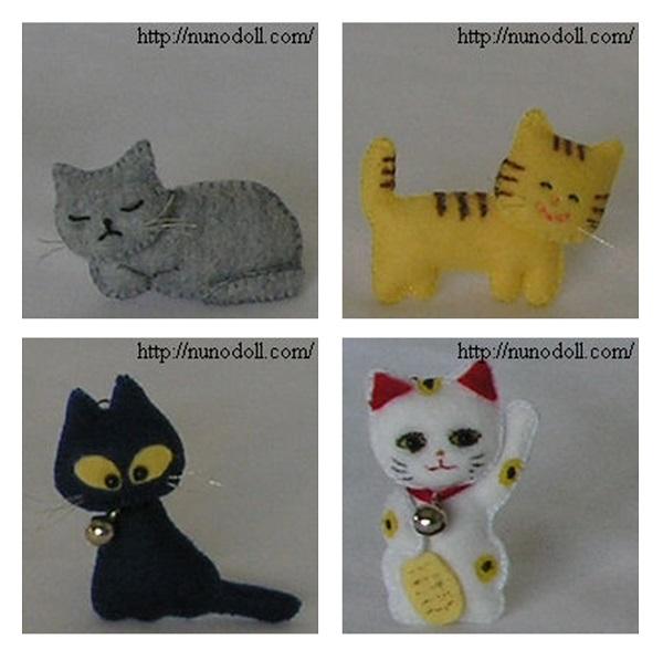 коты-из-фетра