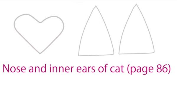 выкройка уши