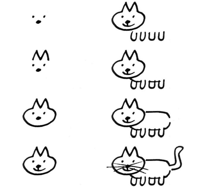 ка кнарисовать кота