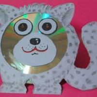 Кот из CD-диска