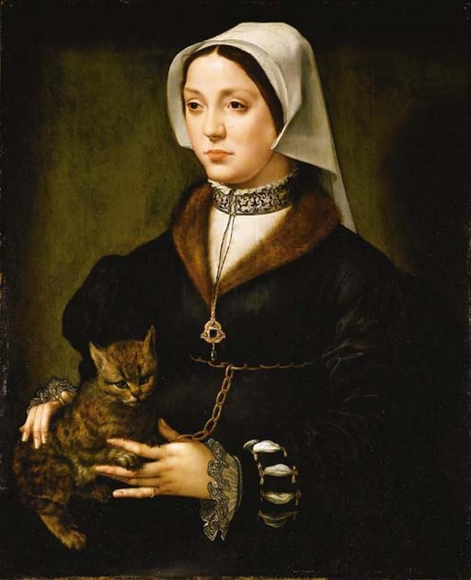 коты в живописи (3)