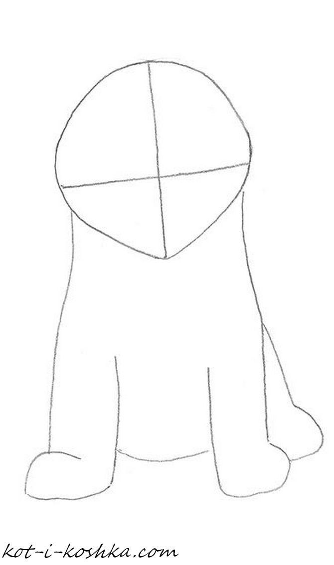 как нарисовать котенка поэтапно (3)