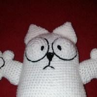 Кот Саймона крючком