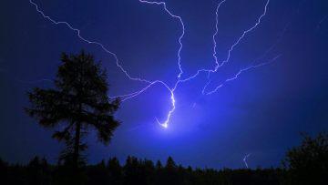 Правила за поведение при гръмотевична буря