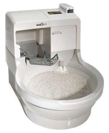 Огромный ассортимент туалетов позволит угодить самой привередливой кошке