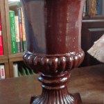 ニススプレーって12年前のでも使えるんだ!一見高級、メディシス鉢に変身。