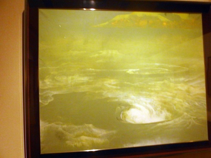 「鳴門」奥村土牛 山種美術館所蔵 ブロガー内覧会で撮影