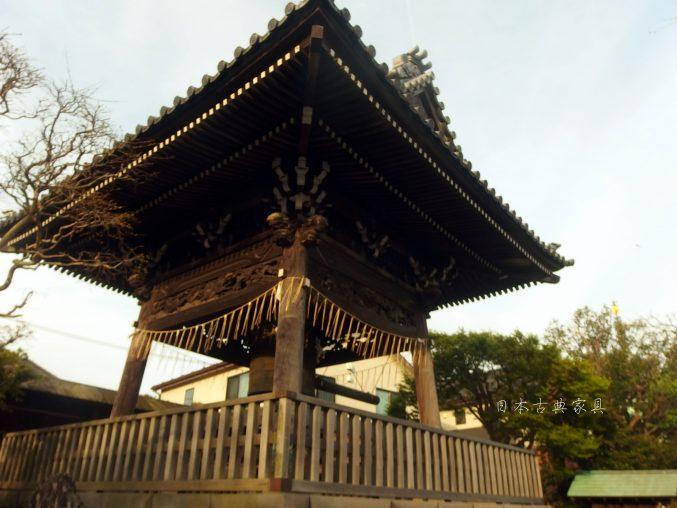 本覚寺 鐘楼