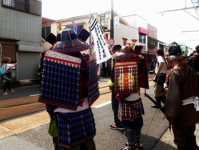 腰越 満福寺の義経まつりに行ってきました。