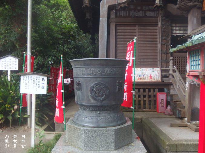 八雲神社(大町)天水盤