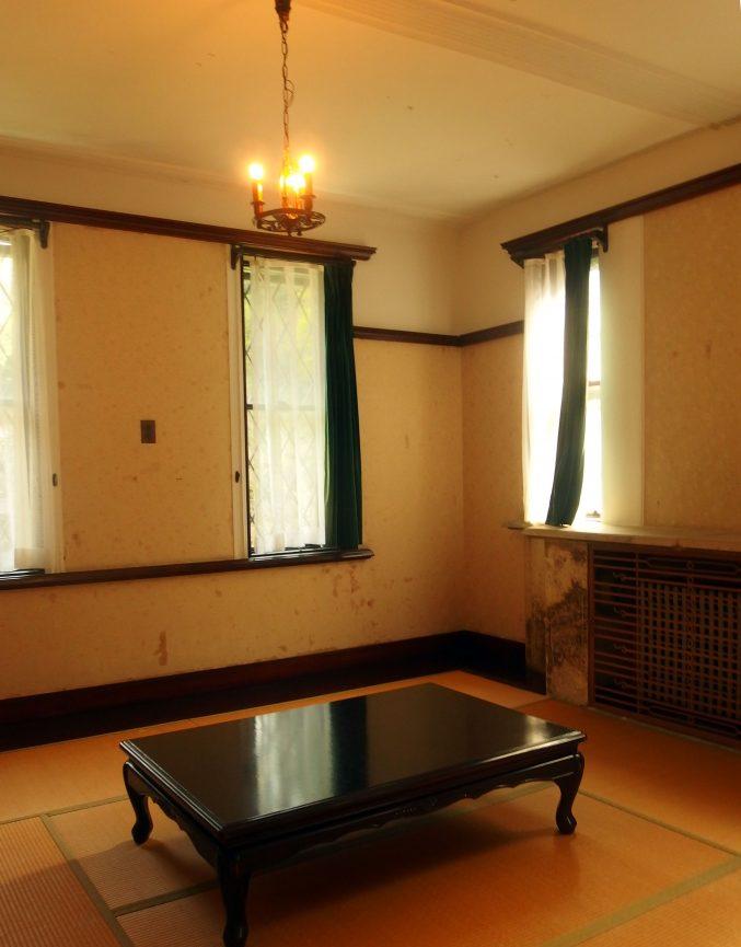 旧華頂宮邸 二階 和室