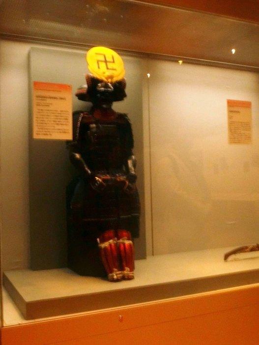 特別展 真田丸 ブロガー内覧会で特別に許可されて撮影しました。 上杉景勝の具足