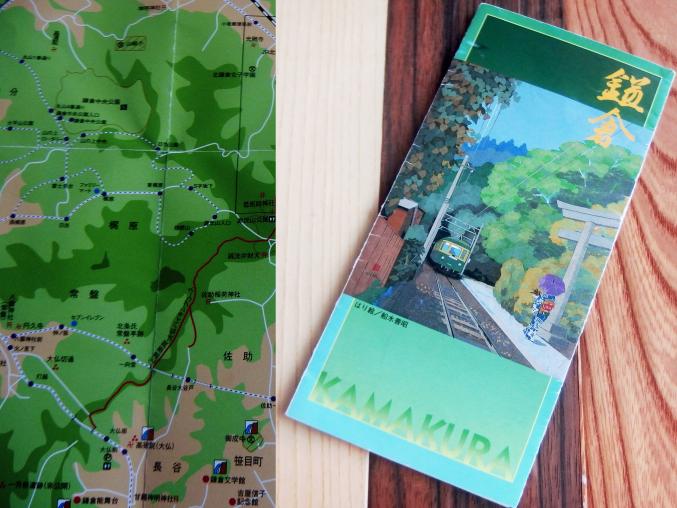 鎌倉の地図