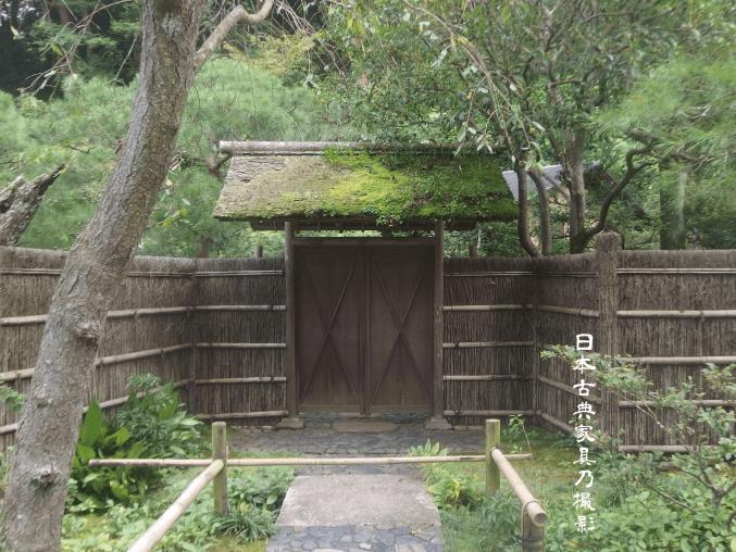 東慶寺 茶室の門