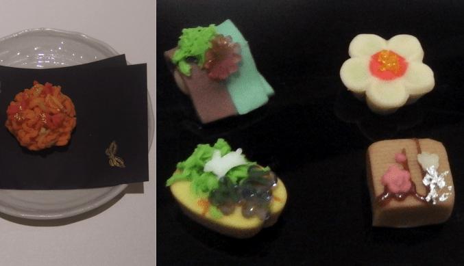 速水御舟の全貌展 特製和菓子