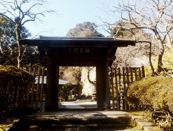 浄智寺 棟門