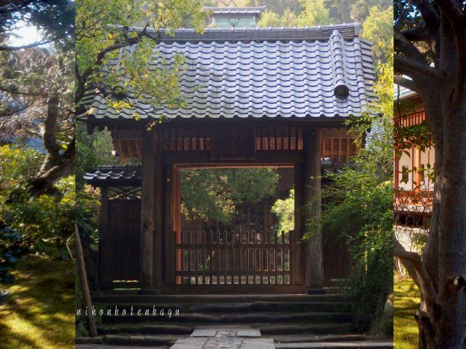 壽福寺 扇ガ谷 格調高く政子・実朝・栄西ゆかりの寺、お着物姿の撮影に最適、アクセスデータ付き。