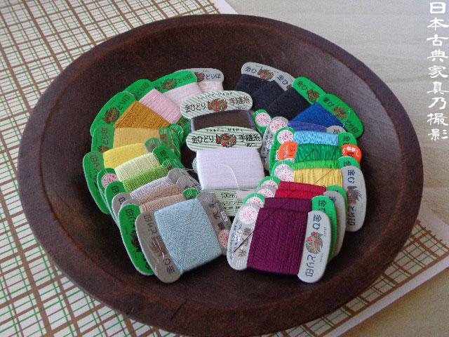 木皿 絹糸