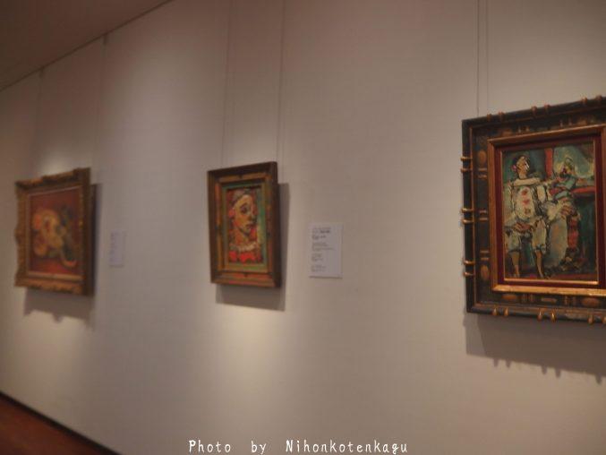 ルオーの絵画 国立西洋美術館
