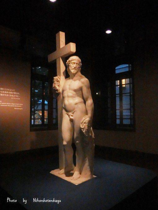 ミケランジェロ「十字架のキリスト」