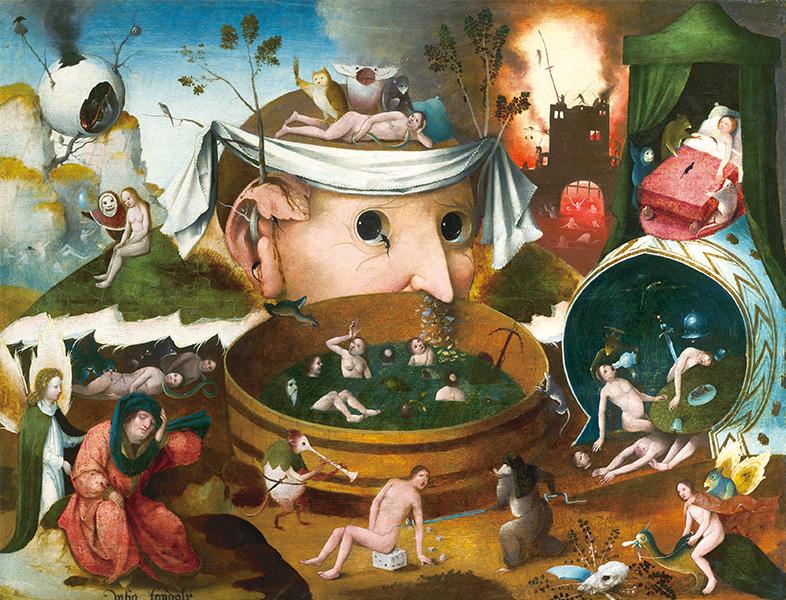 ベルギー奇想の系譜 Bunkamuraザ・ミュジアム 2017 ボスから現代芸術まで、ベルギーの奇妙な絵を集めました。