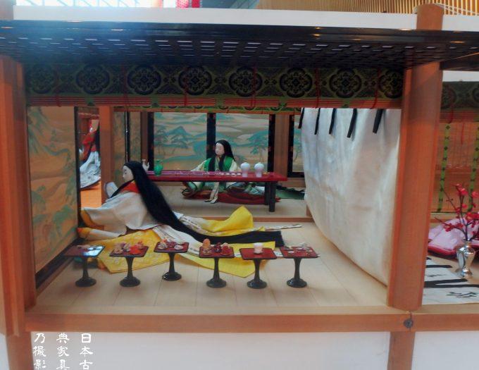 j-culture FEST 宮廷文化・今昔物語展 東京フォーラム 六条院1/4寝殿